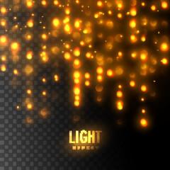 Light bokeh effect.
