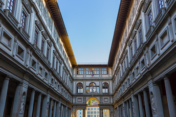 Gallery Uffizi in Florence - Italy