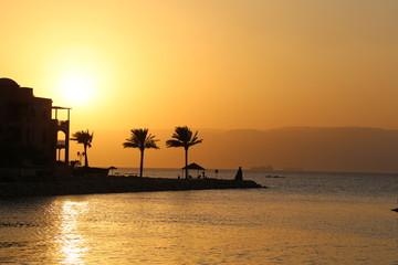 sunset Jordan Acaba