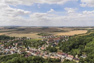 German landscape in summer
