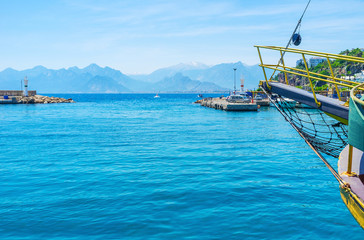 A trip from Antalya port