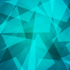 Abstract low poly triangle background
