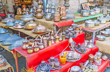 The metalware market in Antalya