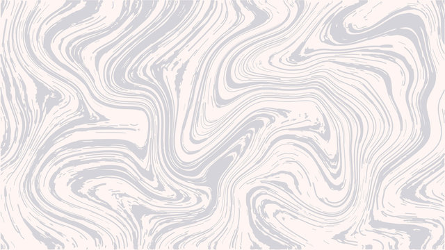 Vector Marble Texture in Light Pink and Grey. Ink Marbling Paper Background. Elegant Luxury Backdrop. Liquid Paint Swirled Patterns. Japanese Suminagashi or Turkish Ebru Technique. HD format.
