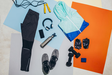 Man's Workout Outfit