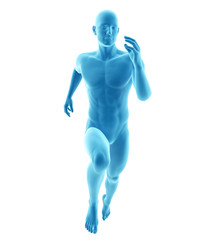 3d rendered medically accurate illustration of a runner
