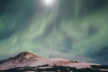 Northern Lights at Flattop