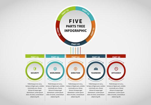 Circle Chain Infographic 11