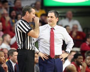 NCAA Basketball: Oklahoma State at Iowa State