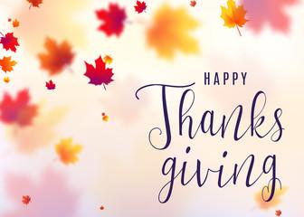 Vector illustration of thanksgiving celebration background