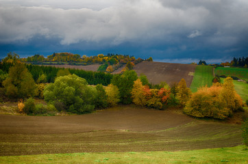Autumn in the country side, Vysocina, Czech Republic