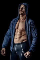 perfect muscular body
