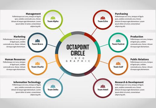 Circle Chain Infographic 12