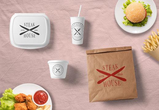 Food Packaging Mockups