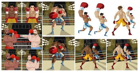 boxing scenes collection