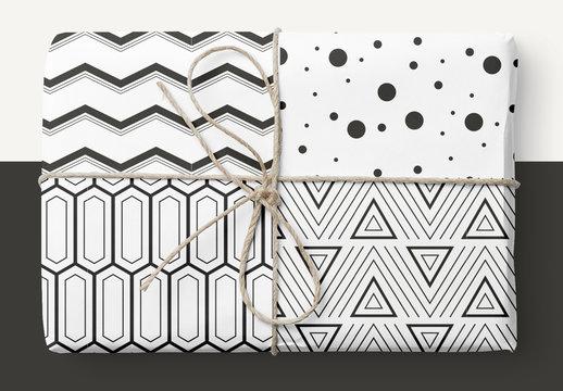Bold Geometric Patterns Set