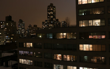 New York City Nightscene