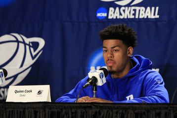 NCAA Basketball: NCAA Tournament-Duke Practice