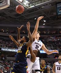 NCAA Basketball: NCAA Tournament-West Regional-Gonzaga vs West Virginia
