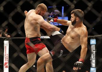 MMA: UFC Fight Night-Tybura vs Arlovski