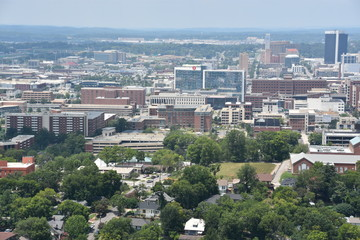 View of Birmingham, Alabama, from Vulcan Park