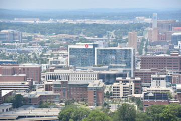 View of Birmingham, Alabama, from Vulcan Park