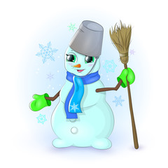 как заец морковку ел у снеговика