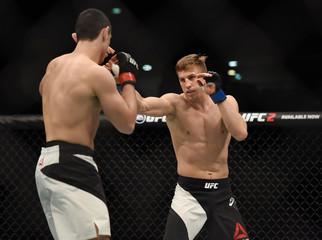 MMA: UFC Fight Night-Di Chirico vs Velickovic