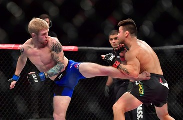 MMA: UFC Fight Night-Bader vs Nogueira