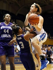 NCAA Womens Basketball: Western Carolina at Duke