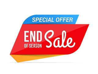 Papier Peint - End of Season Sale Banner
