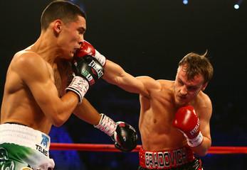 Boxing: Gradovich vs Valdes