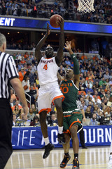 NCAA Basketball: ACC conference tournament-Miami vs Virginia