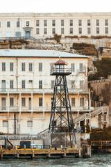 alcatraz prison view, san francisco