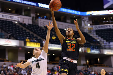 NCAA Womens Basketball: Big Ten Conference Tournament-Maryland vs Michigan State