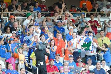 NCAA Baseball: College World Series-Florida vs Miami