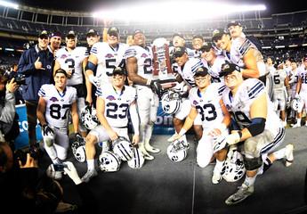 NCAA Football: Poinsettia Bowl-Brigham Young vs Wyoming