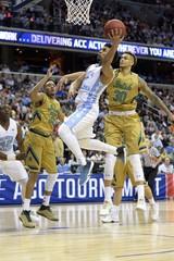 NCAA Basketball: ACC conference tournament-Notre Dame vs North Carolina