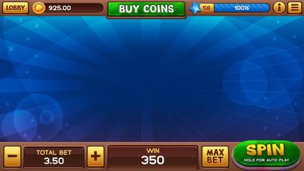 Background for slots games. Vector illustration
