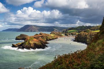 Water Mouth Bay in North Devon, UK