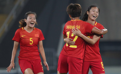 Olympics: Football-Women's Team-1st Round Group E-South Africa (RSA) vs China (CHN)
