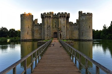 Keuken foto achterwand Kasteel Bodiam Castle in East Sussex England