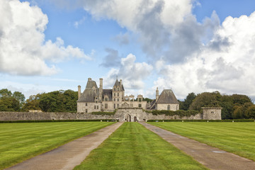Fotorollo Schloss Kerjean castle in Brittany, France