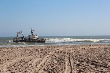 plage de namibie