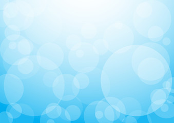 background with blue bubbles