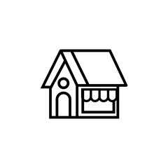 Grocer vector icon