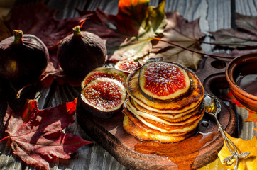 Delicious autumn Breakfast