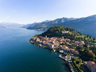 Famous destination in Italy, Bellagio on Como Lake