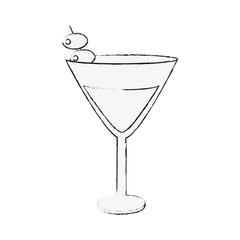 Cocktail bar drink icon vector illustration graphic design