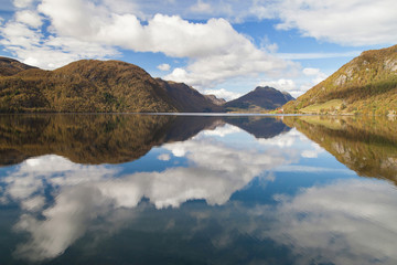 Reflections on Lake Totak
